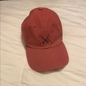J.Crew baseball cap- hockey sticks embroidery